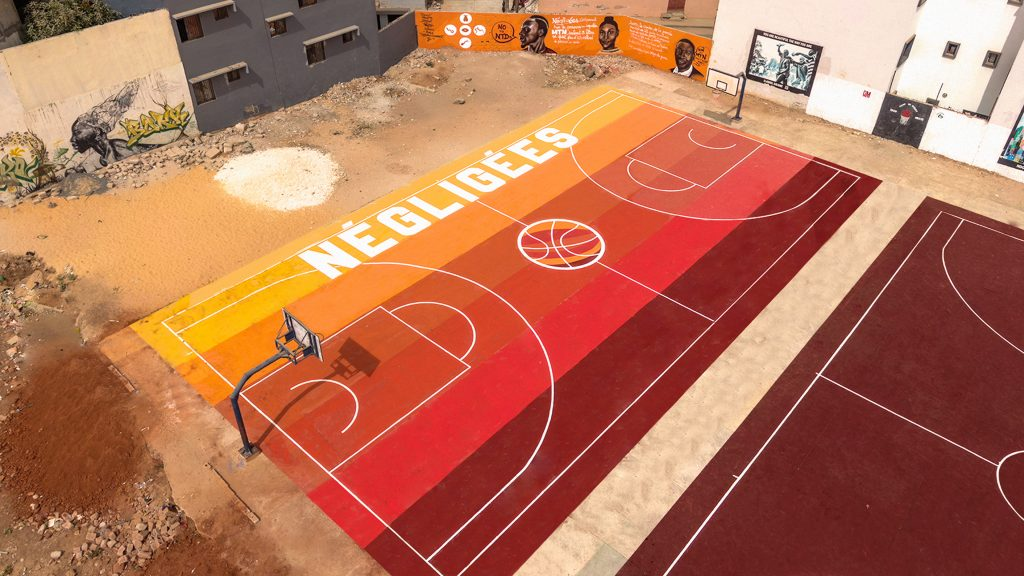 Basket ball playground of Ouakam - Dakar